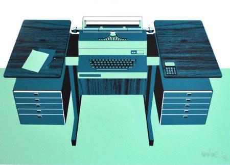 Howkapow   Tweed Tom   Desk Print