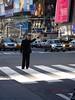 Random man hailing a cab (theonewithout) Tags: newyork cab taxi hailing randomman