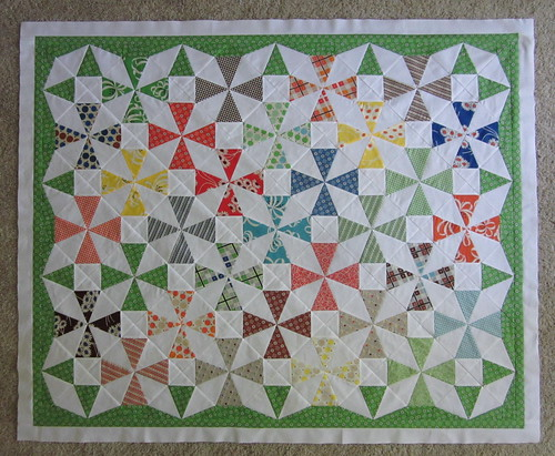 Saltwater Taffy Quilt #2 - progress M