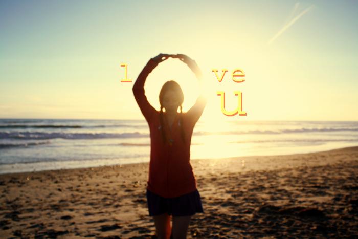 *love u*