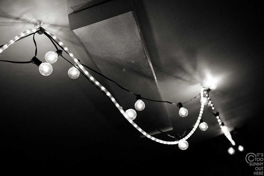 Park Gallery lights