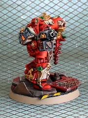 Brother Goriel (Scott Steinhart) Tags: red blood space warhammer marines hulk terminator ravens 40000