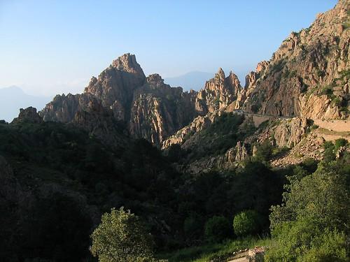 Le cheminement du début du Dardu vers le Capu Ghineparu