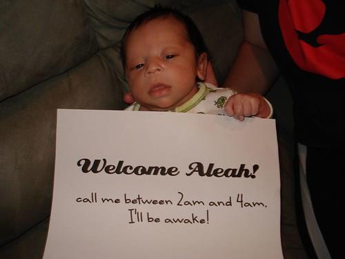 Welcome Aleah!