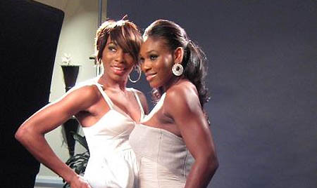 serena and venus - espn magazine shoot
