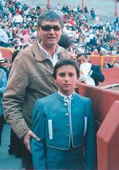 """Fernando Roca Rey, padre y Andrés Roca Rey, """"El Andi"""" en Acho"""