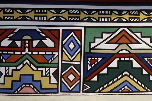 Ndebele painting