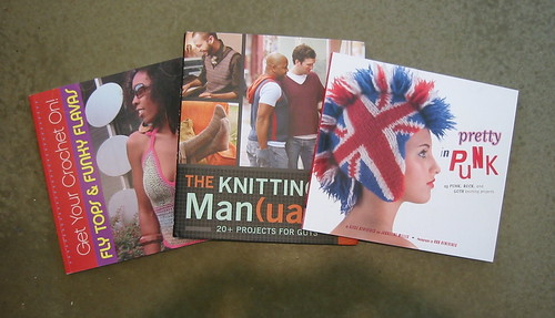 get your crochet on, the knitting manual, pretty in punk