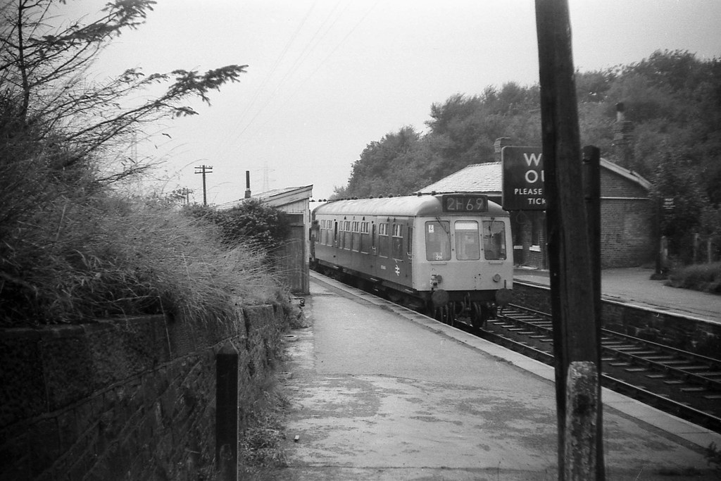 High Lane Station Cheshire August 1969