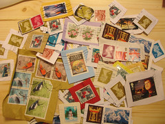Stamps for charity... (Apple-Jack) Tags: charity for blind stamps royal institute collection national postage