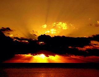 Fiji Sun Explosion