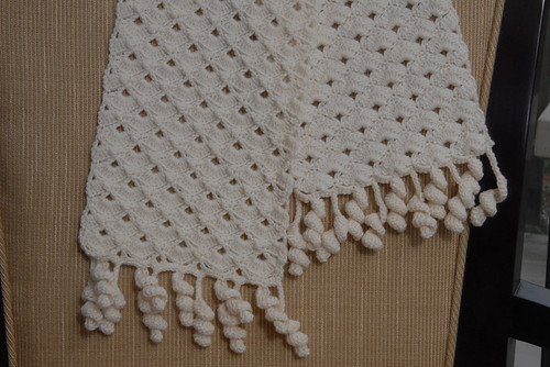 Shell & Spiral Scarf FO 2