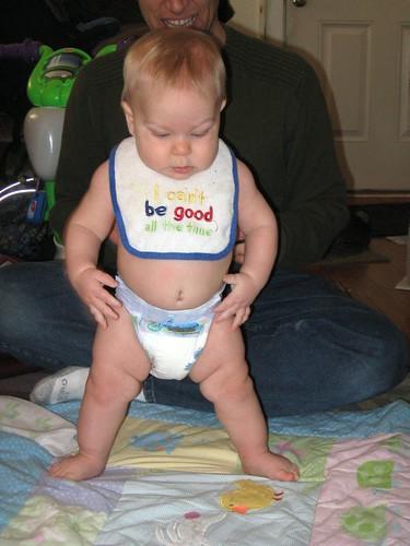 OK Dad . . . ready . . . set. . .