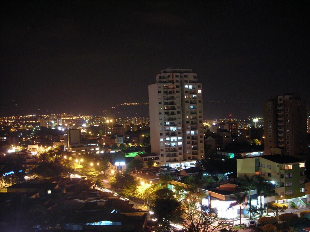 Bucaramanga de Noche, Santander, Colombia