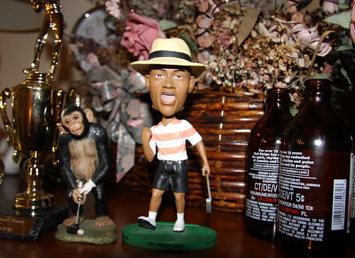 Tiger Woods Pre-Nike-Contract Bobblehead Doll
