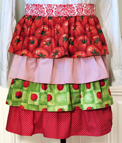 Tomato apron from Dawn