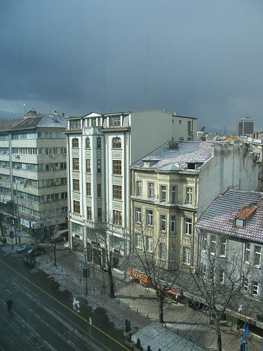 Sofia from a window