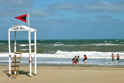 Mangrullo-Villa Gesell- Playa argentina