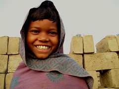 Mezbul | Raichak (arnabchat) Tags: morning boy india cold brick smile kid eyes innocence worker bengal bangla westbengal hooghly supershot brickfactory raichak arnabchat s24pgs mezbul arnabchatterjee
