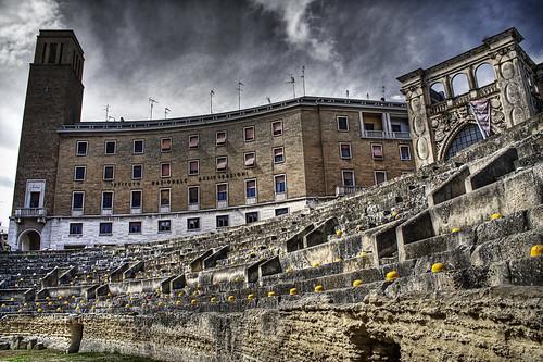 ina building in central lecce - salento, puglia, italia, italy
