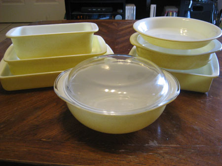 Pyrex Desert Dawn Set