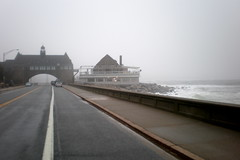 Narragansett casino and fog (lreed76) Tags: fog seacoast coastguardstation southcounty nationalregisterofhistoricplaces narragansettri oldcasino