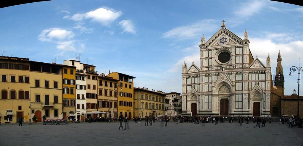 Piazza Santa Croce and the Church