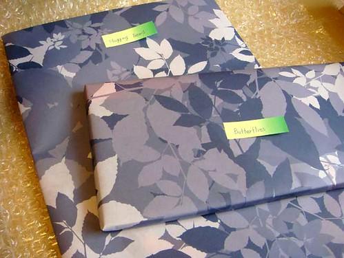 北欧デンマーク フレンステッド社製の手作りモビール「バタフライ・蝶」包み紙