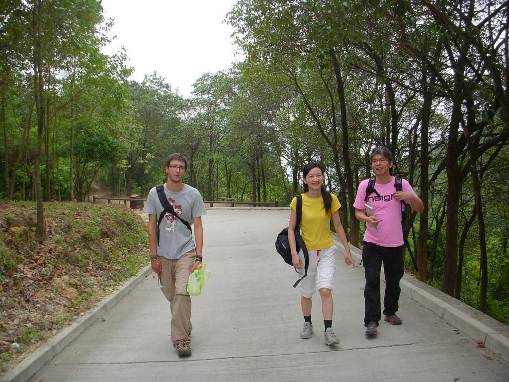 trekking por hong kong