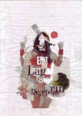 La Gran Decepcin (infamecless) Tags: 3 collage handmade eat decepcin cless