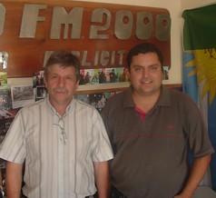 Humberto Torello y  Daniel Cabrera