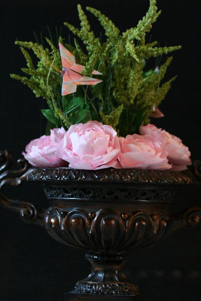 Final Coffee Filter Pink Wedding Peonies