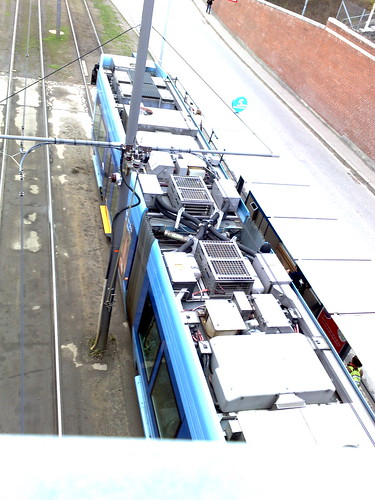 Norwegian tram (from above)
