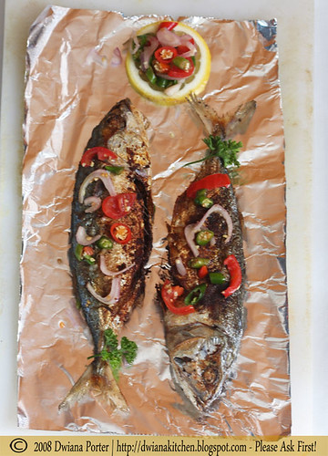 frying mackerel