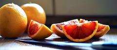 blood orange (rick d.) Tags: favorite orange fruit blood top knife best slice flickrchallengegroup friendlychallenges