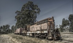 Napa - SD9 (Christopher Mark Perez) Tags: california train gimp hdr highdynamicrange cascadia osp opensourcesoftware tonemapping canon1022efs qtpfsgui canon40d gp9locomotive