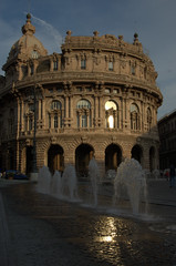 genua (olszuffka) Tags: light italy water architecture genua gnes wochy
