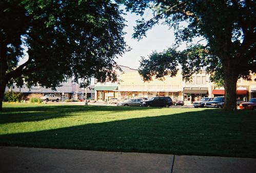 More downtown square, Denton, TX.