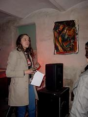 Ana Dinescu / 25. April 2008 / im Subterrarium