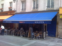 Foody's Soup and Salad restaurant in Paris