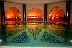 Morocco - Bath house (MedioFlickr) Tags: house pool underground bath muslim religion pray mosque morocco casablanca
