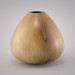 "Gum Drop - 6"" Sycamore vessel, round bottom. Oil finish and buffed."