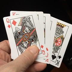 Playing card prototypes (Don Moyer) Tags: playingcard creature prototype ink drawing moyer donmoyer brushpen kickstarter