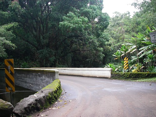 One-lane bridge on Road to Hana
