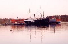 Moored lake steamers, Savonlinna (wrightrkuk) Tags: ships nordic savonlinna salama nordisk steamers nordiccountries pihlajavesi easternfinland lakesteamers finnishlakes freshwaterships