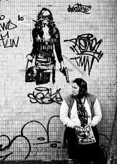 Buy The Magazine or The Lady Gets It... (Feldore) Tags: street ireland art magazine point big gun belfast northern pointing issue mchugh seller romanian feldoremchughportfolio feldore