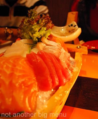 Tsuru, Greenwich - Sashimi boat £36