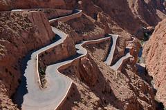 Winding Mountain Road, Dadès Gorges, Atlas Mountains, Maroc (Morocco) (Loïc BROHARD) Tags: africa desert oasis morocco berber maroc maghreb oases kasbah westernsahara dadès gorgesdudades dadèsgorges almaġrib المغرب
