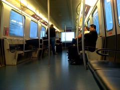 Riding the AirTrain