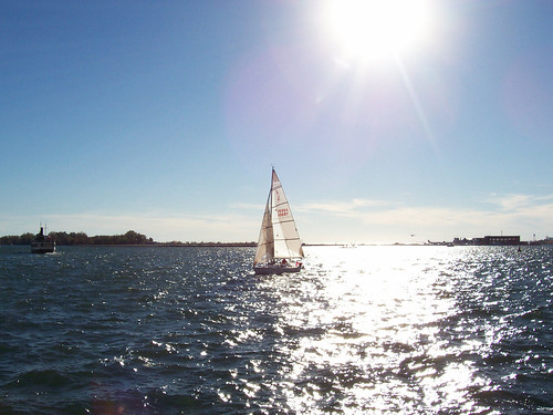 Fall Sailing, Lake Ontario